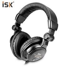 Brand new original ISK HP 960B Sopra lorecchio Professionale Della Cuffia di 3.5mm Monitor da Studio Dinamico Stereo DJ Cuffie Cuffie HD di musica del Trasduttore Auricolare