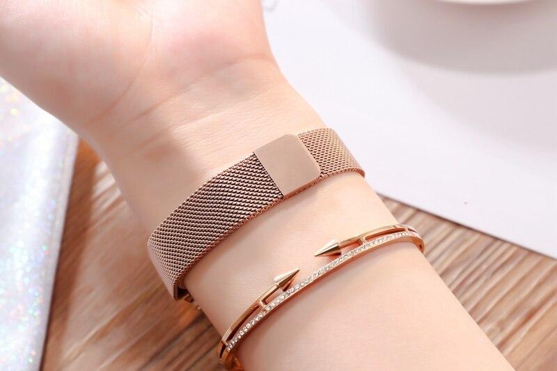 Gold Quartz Watches Ladies watch (5)