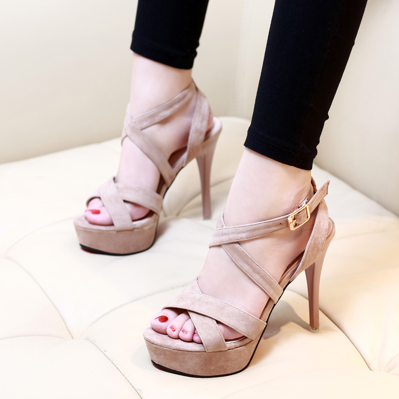 dff74918eed1 Wholesale Top Quality Thin High Heels Summer Shoes Woman Sexy Party ...
