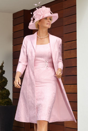 Aliexpress.com : Buy Free Long Jacket Hot Pink Mother of the Bride ...