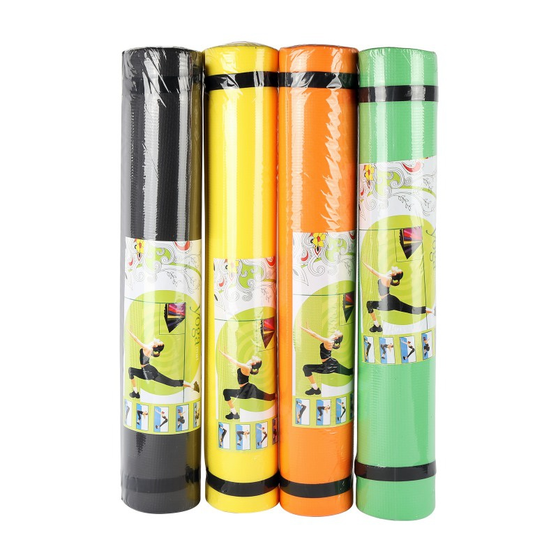 4MM Yoga Mat TPE Non-slip Fitness Slim Yoga Gym Exercise