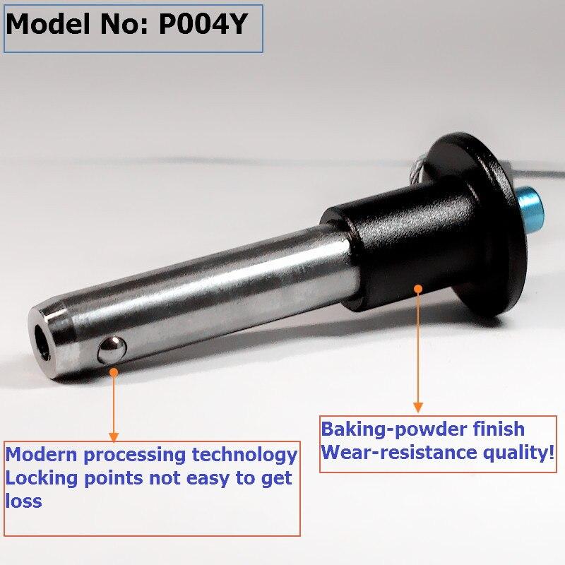 משלוח חינם 8x19mm,פלדת אל קו מערך רמקולים pin P004Y מקצועית אודיו