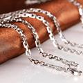 Free Shipping Punk Fashion Men Jewelry Stainless Steel Unique Square Chain Male Necklace Bohemia Chains Necklaces
