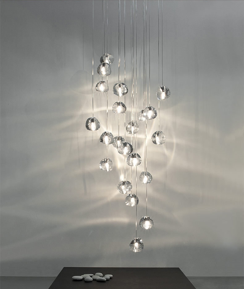 Meteor shower Crystal Creative Pendant Light Lamp European-style Luxury LED Lamps Moderm Glass Indoor Lighting RestaurantMeteor shower Crystal Creative Pendant Light Lamp European-style Luxury LED Lamps Moderm Glass Indoor Lighting Restaurant