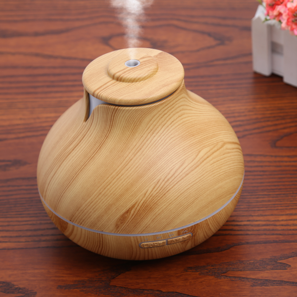 AU/EU/US Switch Plug Aromatherapy Essential Oil Diffuser Ultrasonic Cool Mist Aroma Air Humidifier for Office Baby Room Switches