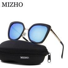 MIZHO Real HD Visual celebridad polarizado gafas de sol de las mujeres del  ojo de gato de espejo con protección UV para mujer ga. 5239da3f88b4