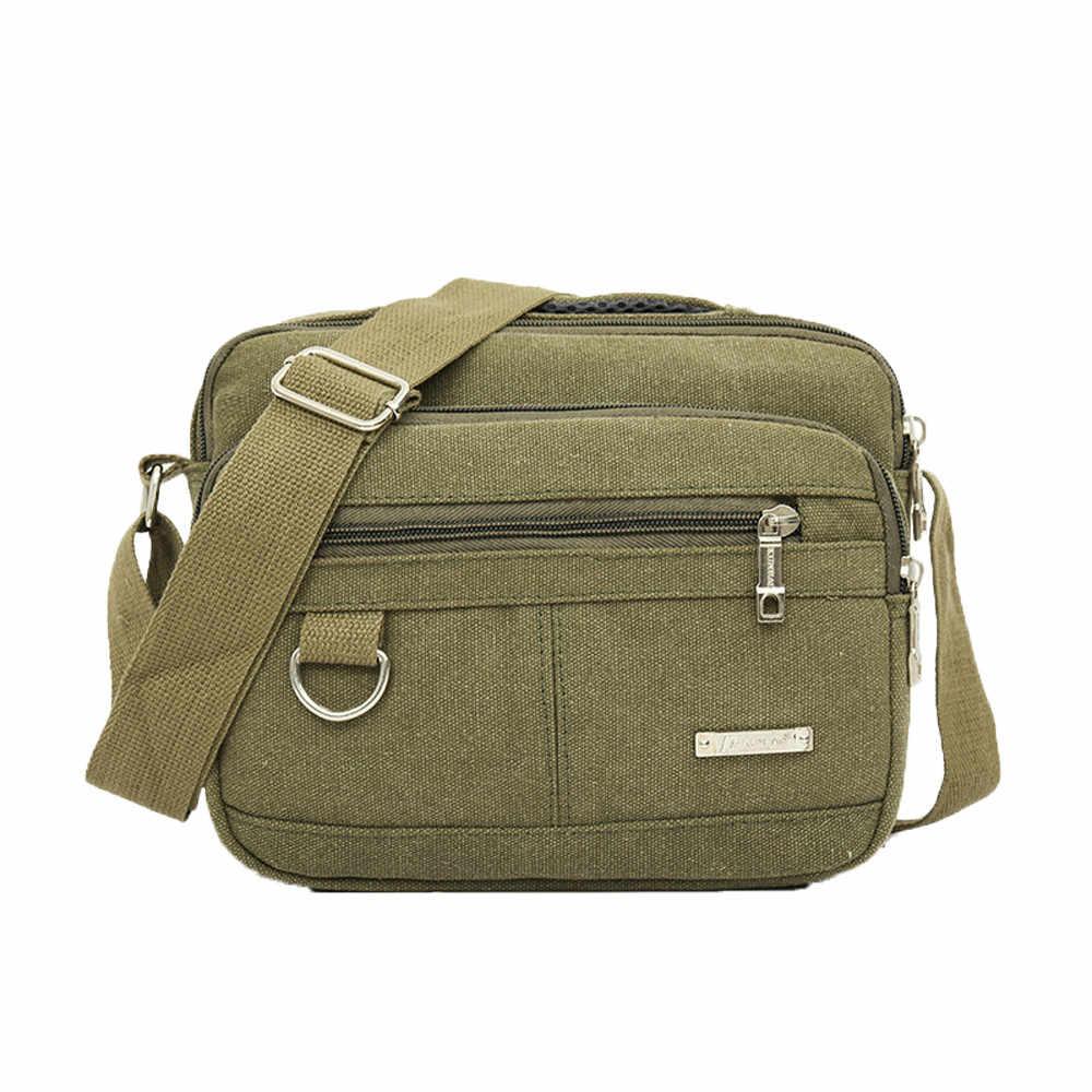 Homens messenge bolsa de ombro venda quente lona de alta qualidade sacos de viagem casual masculino crossbodybag y
