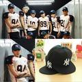Kpop EXO voltar mesmo parágrafo hip - hop bonés de beisebol k - pop álbum MV de varanda , chapéu de lona k pop chapéus DO preto
