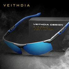 471a3b50d VEITHDIA الاستقطاب النظارات الشمسية الرجال جديد وصول العلامة التجارية مصمم نظارات  شمسية مع الأصلي مربع gafas oculos دي سول mascu.