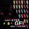 YAOSHUN UV Soak Off Gel Esmalte de Uñas Barniz BRICOLAJE Nail Art Salon Gel de Ojos de Gato Magnético 3D