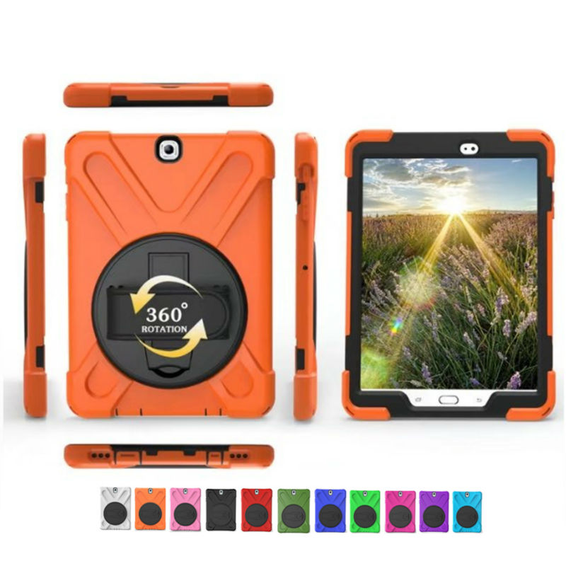 Tab S2 T810 SM-T810 Heavy Duty Tablet Case Fundas PC Silicon Back Cover for Samsung Galaxy Tab S2 9.7'' Protective Stand Holder new x line soft clear tpu case gel back cover for samsung galaxy tab s2 s 2 ii sii 8 0 tablet case t715 t710 t715c silicon case