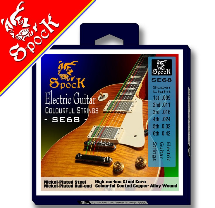 Quality electric guitar multicolour strings  spock electric guitar strings savarez 510 cantiga series alliance cantiga normal high tension classical guitar strings full set 510arj