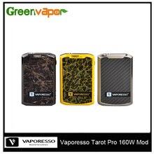 100%เดิมVaporessoไพ่ทาโรต์โปรกล่องสมัยVape 160วัตต์VTC VT & VWโหมดบุหรี่อิเล็กทรอนิกส์Vaporizerสนับสนุนย่อยโอห์มถังฉีดน้ำ