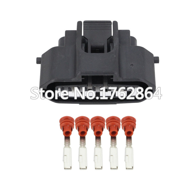 5 pin engine plug female housing wire harness connector ignition air flow  meter socket for toyota dj7051a-2 2-21