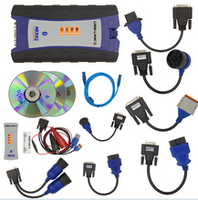 New Heavy Duty Truck Nexiq 2 Bluetooth Function Auto car Diagnostic Tool Full Set NEXIQ-2 USB Link With Software