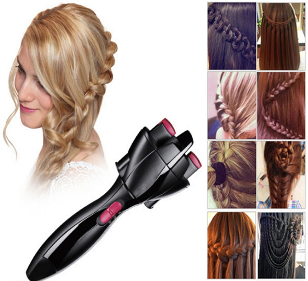 Electric Hair Braider Automatic Twist Braider Knitting Device Hair Braider Machine Braiding Hairstyle Cabello Hair Styling Tool