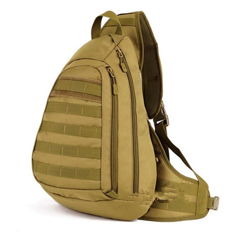 multi functional male chest bag Nylon Military Backpack nylon leisure joker Large capacity camouflage classic Male