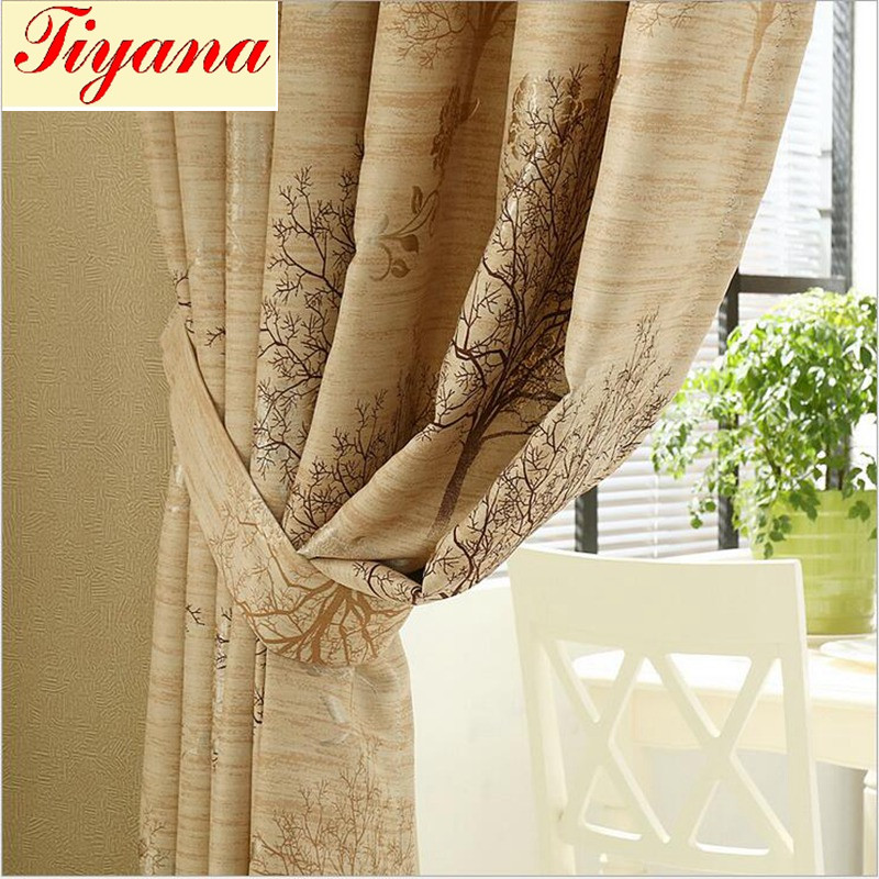 Wedding Blackout Curtains Floral Tulle Curtain for Living Room Door Decoration Pink Window Treatment Panel Hot Sale Su277 *30
