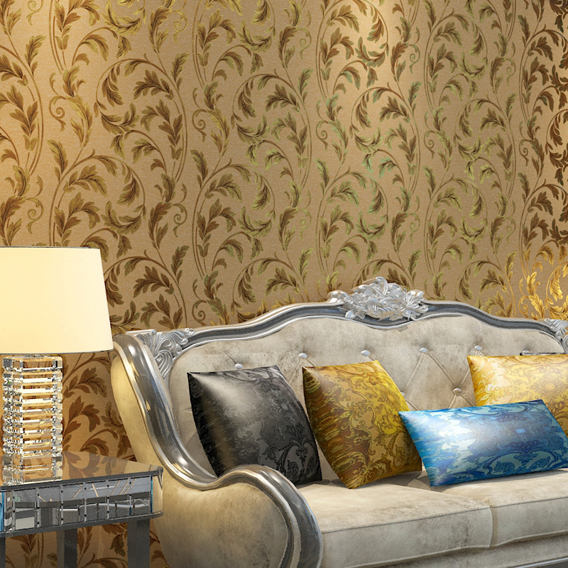 Japanese Style 3d Embossed Leaf Wallpaper High Quality Wallpaper Wholesale Red Leaves Papel De Parede Para Sala Estar Paper Roll plug elbow right angle 3 5mm male to female audio connector 90 degree adapter gold plated free shipping