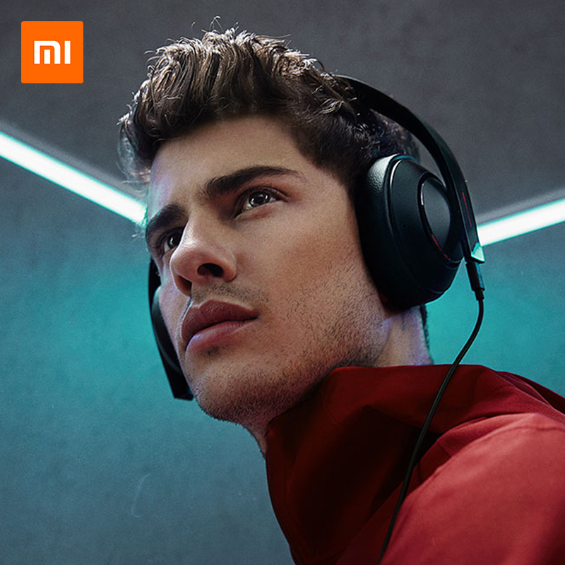 Newest original Xiaomi Gaming Headphone Mi Earphone 7.1 Virtual Surround Sound Game Headset With MIC LED Light Noise Cancelling - 5