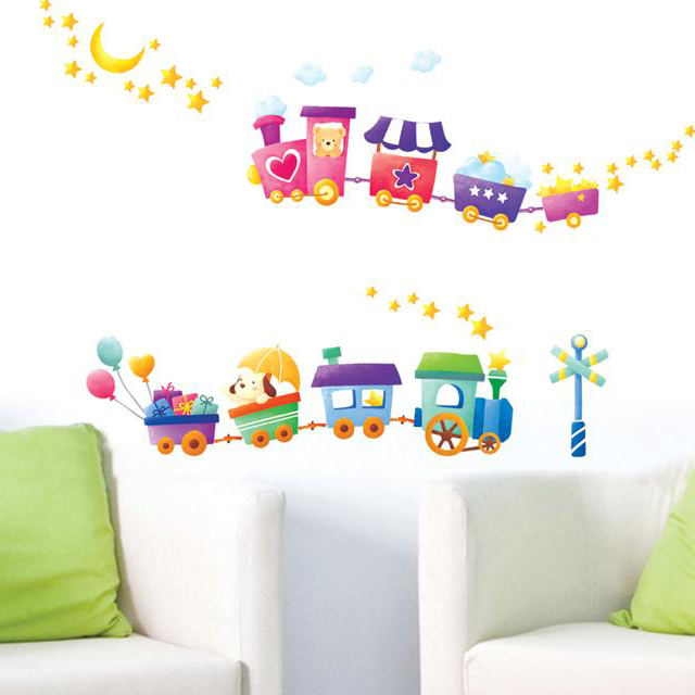 Stickers Muraux Pour Enfants Chambres Removable Wall Stickers Cute