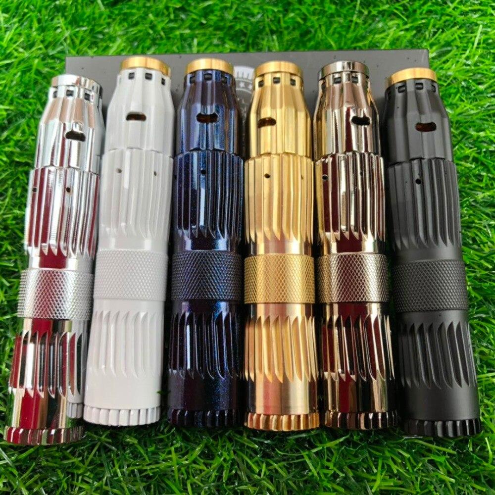 2019 arrivée E Cigarette Cl japon modèle MOD Kit mécanique en laiton matériel Fit 18650 batterie 510 fil Mech Mod Vape stylo Kit