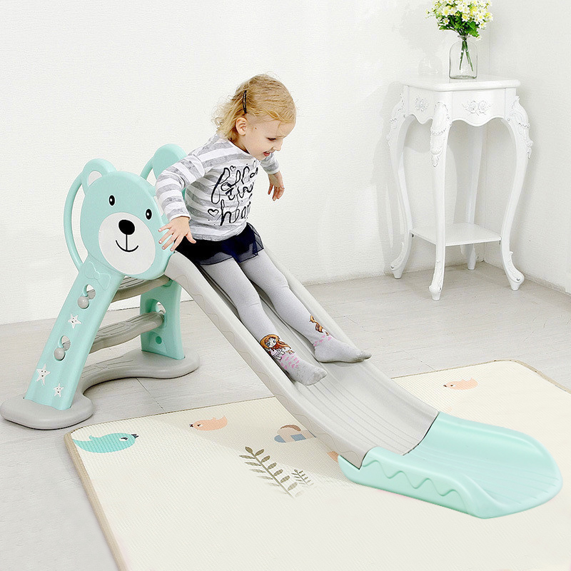Playground Slide Toy For Children Non-toxic PE Thick Plastic Slippery Slide For Indoor Outdoor Kids Sliding Pond For Boy Girl plastic slide for kids foldable children indoor sliding
