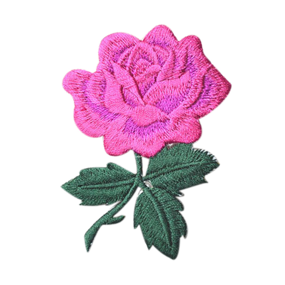 Blossom Flower Patches Applique Clothing Embroidery Patch Sticker Iron On Sew Cloth Women DIY Clothes Wedding Patch 2017