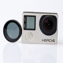 JUST NOW New arrival 25mm Multi Feature for GoPro Hero4 CPL ND Lens Filter For GoPro
