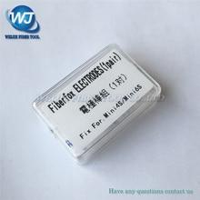 Fiberfox Mini 4S MINI 6S optik Fiber füzyon Splicer elektrot Fiber KAYNAK MAKINESİ elektrot