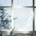 Luzes Da Cortina Estrela LEVOU, 2 Conjuntos de Bateria Fio de Cobre Luz, Luz Da Corda para o Exterior, Casa, Fada jardim, Casamento, Árvore de Natal, Árvore de Natal