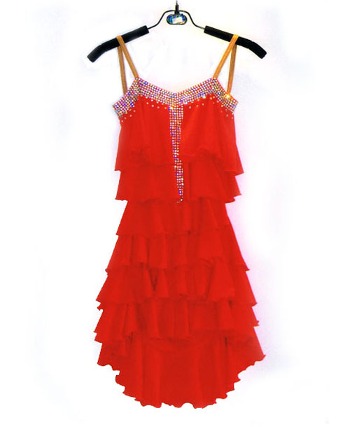 New Style Latin Dance Costume Sexy Senior Spandex Diamond  Latin Dance Dress For Women Latin Dance Competition Dresses S-4XL