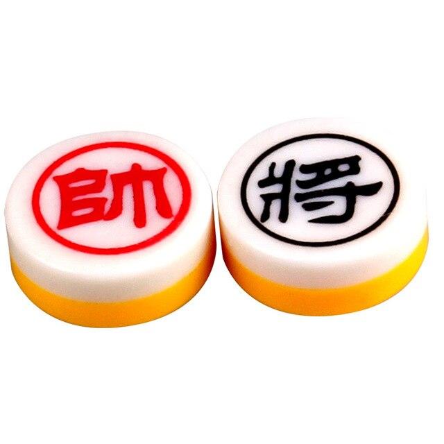 Xiangqi jeu d'échecs chinois magnétique, Portable et pliable, pour enfants et adultes 4