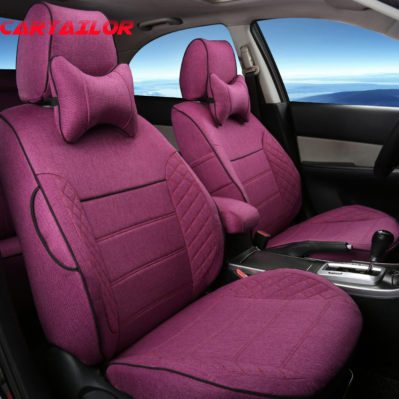 Aliexpress Com Buy Cartailor Linen Cloth Cover Seats For