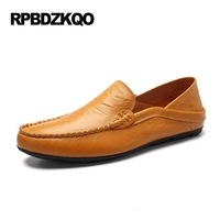Men Shoes Casual Fashion Driving 2017 Boys Navy Blue Loafers Moccasins Flats Brown Summer Footwear Comfort