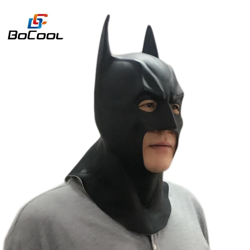 Batman Mask Vuxen Halloween Mask Realistisk Full Face Latex Party - Semester och fester - Foto 6