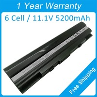 6 cell laptop battery for asus EEE PC 1201 1201HA 1201HAB 1201HAG 1201N 1201X 1201NL 70 NX61B2000Z 70 NX61B3000Z free shipping