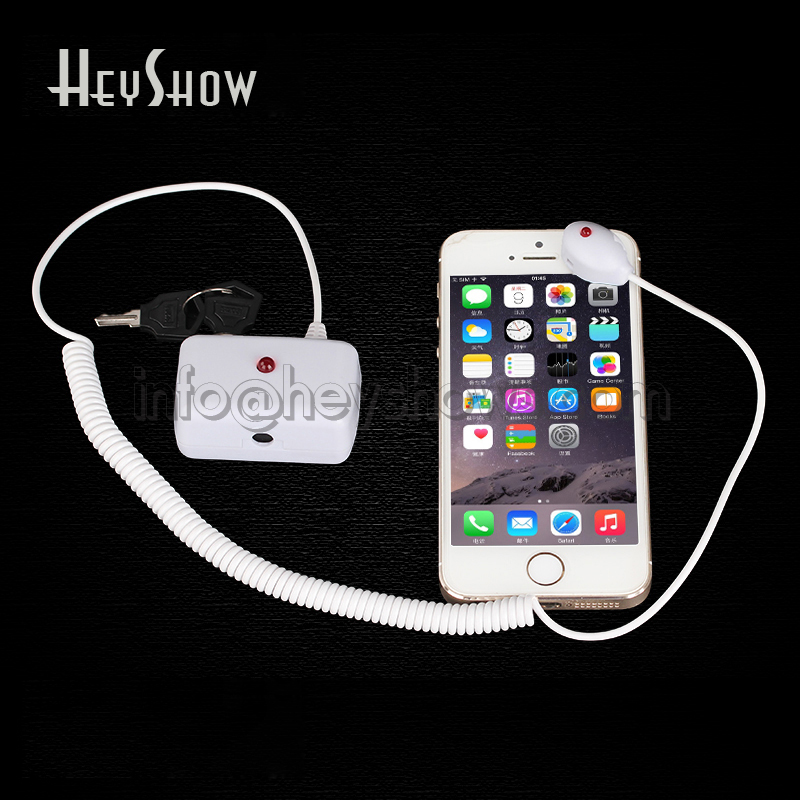 Cell Phone Security Stand Tablet Display Holder Laptop Alarm Lock Ipad Sensors Cable PC Anti-theft Device For Watch Earphone