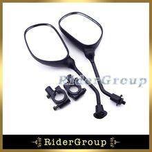 ATV Quad 8 мм боковое зеркало заднего вида зажим держателя кронштейна для ямы грязи мотоцикл, мотоцикл мопед скутер