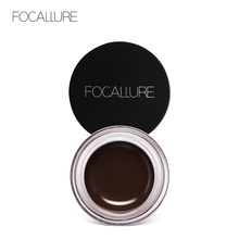 FOCALLURE Professional Eyebrow Gel 5 colors Waterproof  Eye Brow Enhancer Cream Makeup with Brush