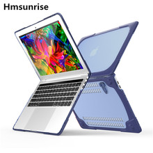 Newest Shockproof Outer Case For 2016 Macbook Pro 13 with/Without Touch Bar Hard Plastic Cover with Foldable Stand A1706 A1708