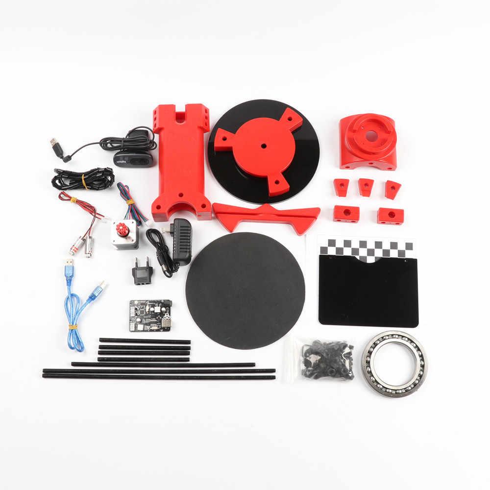 HE3D ciclop laser Open source DIY 3d scanner for 3D printer , red injection  molding plastics parts