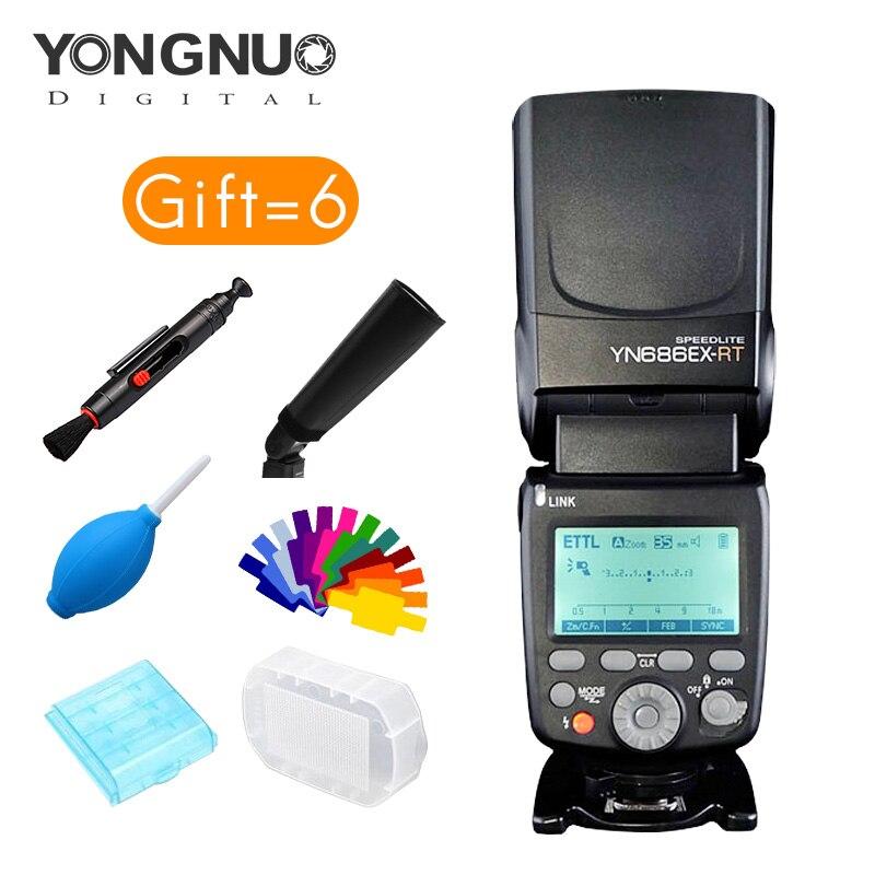 yongnuo YN686EX-RT Lithium Speedlite Wireless 1/8000s TTL/M/MULTI flash YN686 With Lithium Battery for Cannon new arrived вспышка для фотокамеры 2xyongnuo yn600ex rt yn e3 rt speedlite canon rt st e3 rt 600ex rt 2xyn600ex rt yn e3 rt