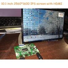 10.1 дюймов 2560×1600 2 К 1440 P HD экран монитора IPS VVX10T025J00 DLP проектор ЖК-дисплей и драйвер платы 3D принтер DIY Kit