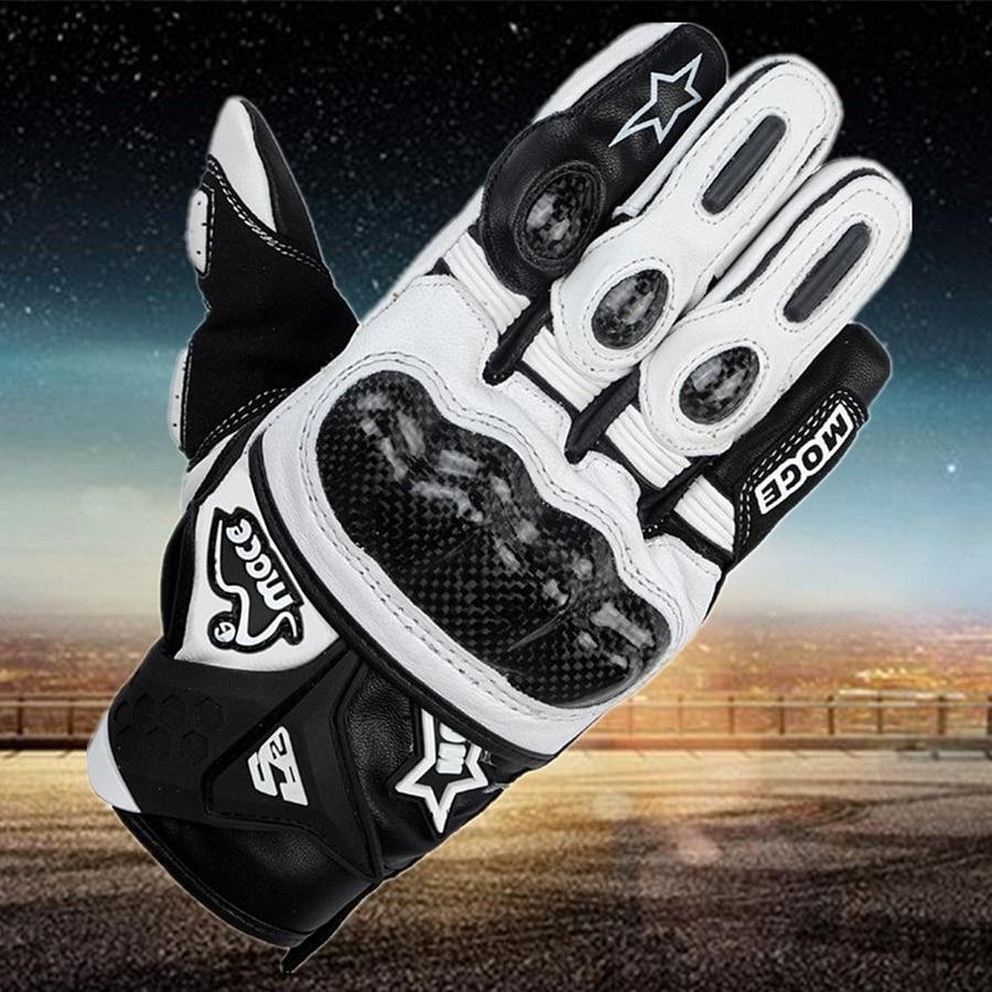 Free shipping 1pair Hot Sale Motorcycle Gloves Moto Racing Gloves Ride Bike Motorbike Waterproof Keep Warm Leather Gloves