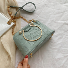 Crocodile Pattern Crossbody Shell bags Women Small Chain Handbag small