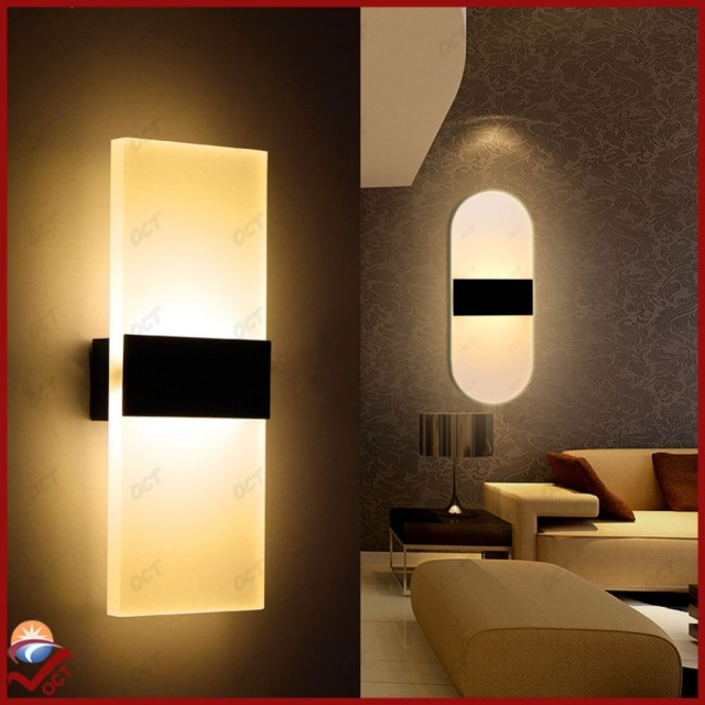 Modern Aluminum Wall Lights Ikea Kitchen Restaurant Living Bedroom Indoor Bathroom Fixtures Led