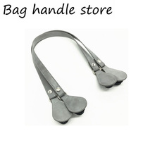 new 1 pair all same color handle 68 cm for obag bag tote cheap 150g for obag handles FERAL CAT cotton total 68cm