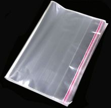 3000pcs 18*26cm Self Adhesive Seal Plastic Bags Resealable clothing Poly Opp bags Transparent Candy Gift Jewelry Package