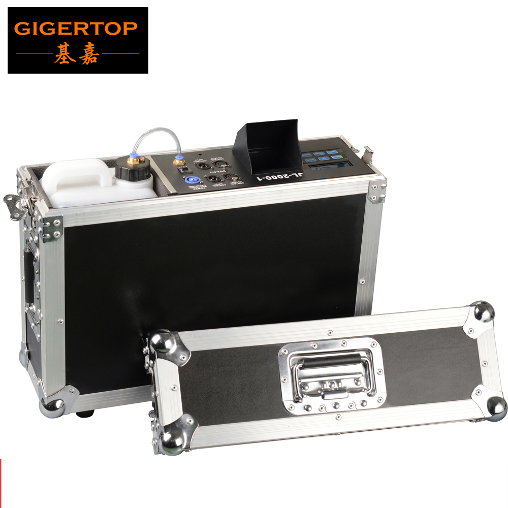 High Quality 900W Mist Haze Machine For <font><b>Stage</b></font> Equipment With Fog Liquid Water Based,Flight Case <font><b>Hazer</b></font> Fog Machine 900W For Club image